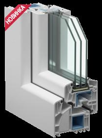 Пластиковое окно Века - Alphaline 90мм